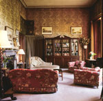 library of estate house/mansion